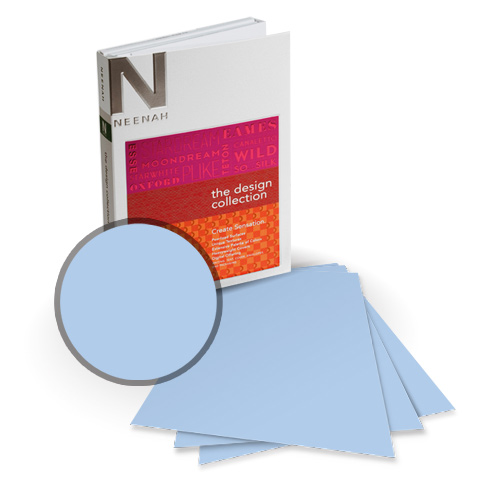 "Neenah Paper Esse Smooth Pearlized Opal 8.75"" x 11.25"" 105lb Card Stock - 8 Sheets (NESSCPO420-I) Image 1"