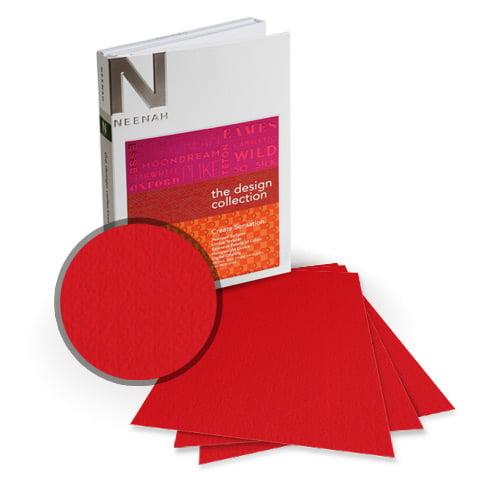 "Neenah Paper Esse Texture Cardinale 8.5"" x 14"" 100lb Card Stock - 6 Sheets (NESTCC400-D) - $6.89 Image 1"