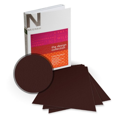 Neenah Paper Esse Texture Espresso A4 100lb Card Stock - 8 Sheets (NESTCE400-K) - $6.89 Image 1