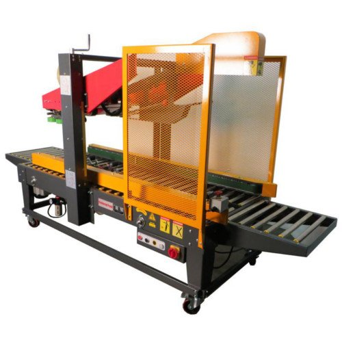 Packaging Products Fully-Automatic Uniform Carton Sealer with Automatic Top Flap Folding (PP-558F) Image 1