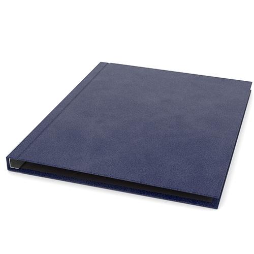 "ChannelBind Blue 8.5"" x 11"" Executive Suede Hard Covers (CHB-8.5x11ESHC-BLU) - $198.88 Image 1"