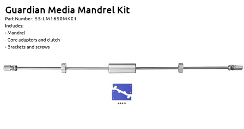 "Supply55 Extra Media Mandrel Kit for Guardian 65"" Laminators (55-LM1650MK01), Supply55 brand Image 1"
