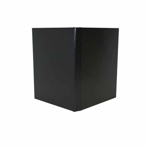 "Powis Parker Fastback Black Composition Hard Covers (1/4"" Spine A) - 25pk (HJCBA)"
