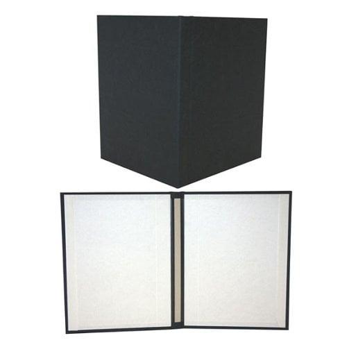 "Powis Parker Fastback Black Suede 10"" x 10"" Hard Covers (HVSB-SX) - $241.49 Image 1"