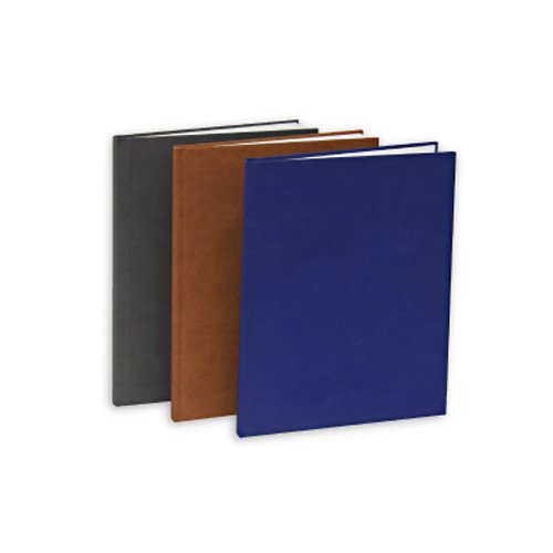"Powis Parker Fastback Bright Blue Suede Hard Covers (1/2"" Spine B) - 25pk (HJSEB)"