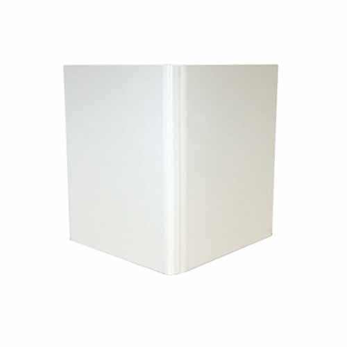"Powis Parker Fastback White Composition Hard Covers (1/4"" Spine A) - 25pk (HJCWA) Image 1"