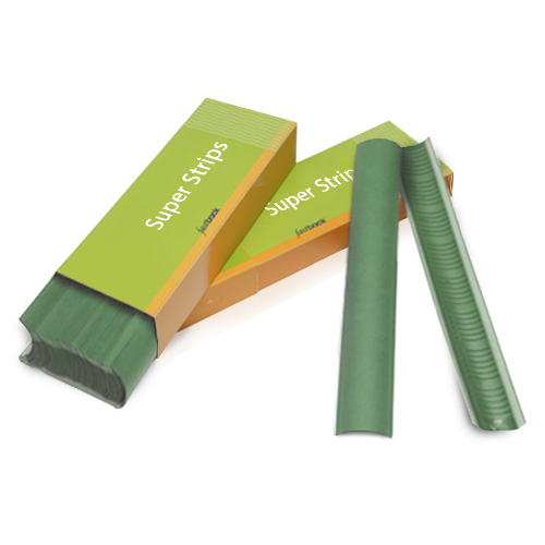"Powis Parker Green 11"" Medium Fastback Super Strips - 100pk (M124) Image 1"