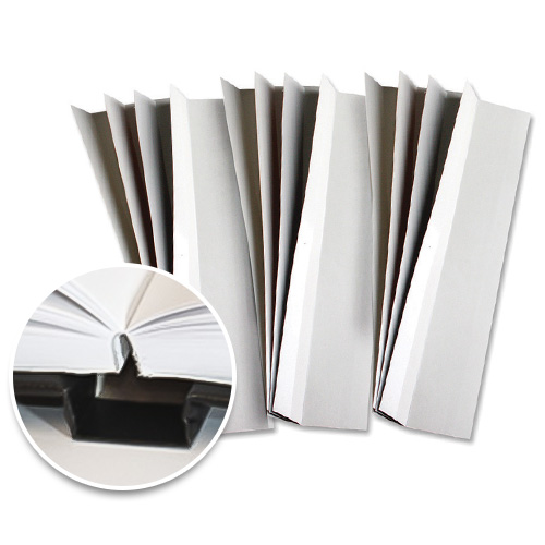 """Fastbind 3/8"""" x 11"""" Lay-Flat Strips for Perfect Binding - 100pk (LF10010MM) Image 1"""