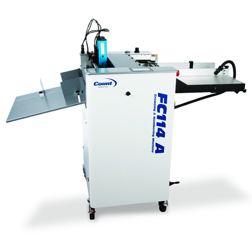 Count FC114 A Air-Fed Digital Creasing/Perforating/Numbering Machine (FC114A)