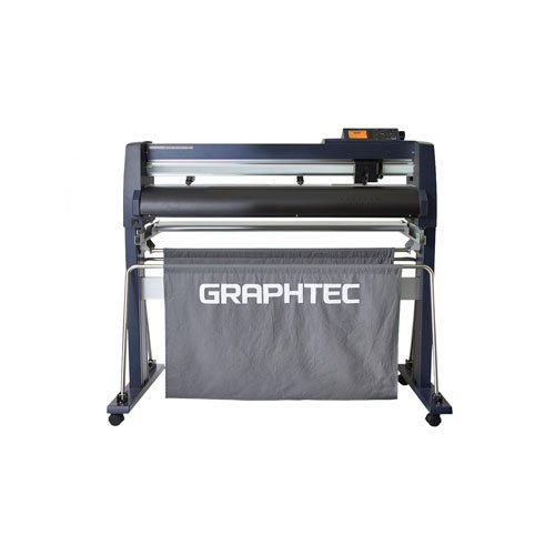 "Graphtec 30"" Roll-Fed Vinyl Cutter and Plotter with Stand and Basket (FC9000-75) Image 1"