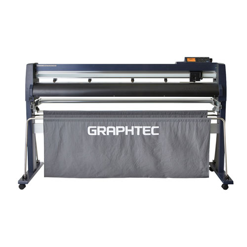 "Graphtec 54"" Roll-Fed Vinyl Cutter and Plotter with Stand and Basket (FC9000-140) Image 1"