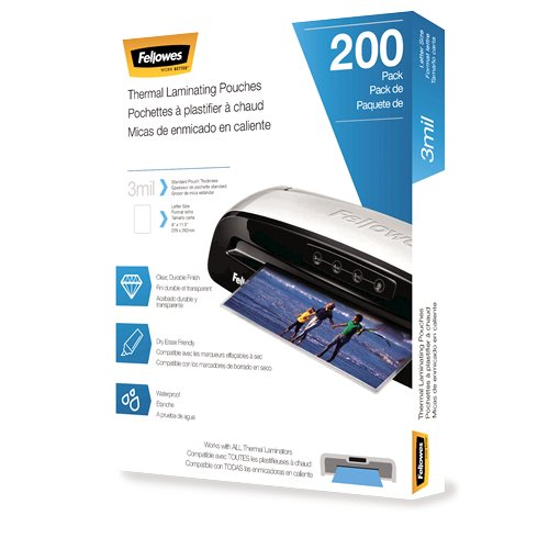 Fellowes Thermal Laminating Pouches Image 1