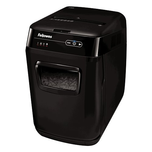 Fellowes AutoMax 150C Auto Feed Cross-Cut Paper Shredder (4680001)