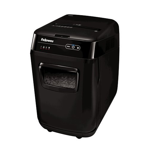 Fellowes AutoMax 200C Auto Feed Cross-Cut Paper Shredder (4653501)