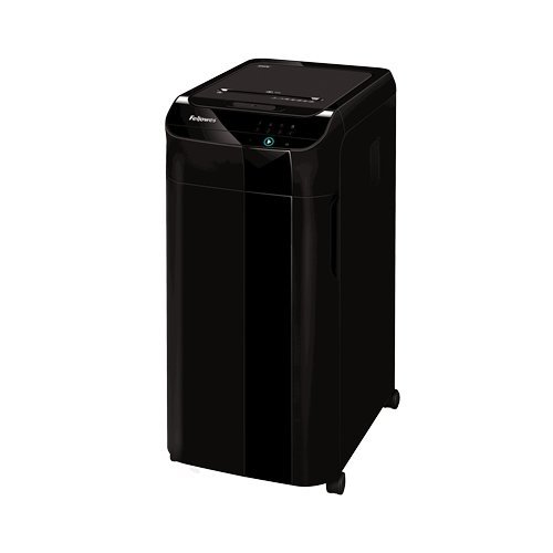 Fellowes AutoMax 350C Auto Feed Level P-4 Cross-Cut Shredder (4964001)
