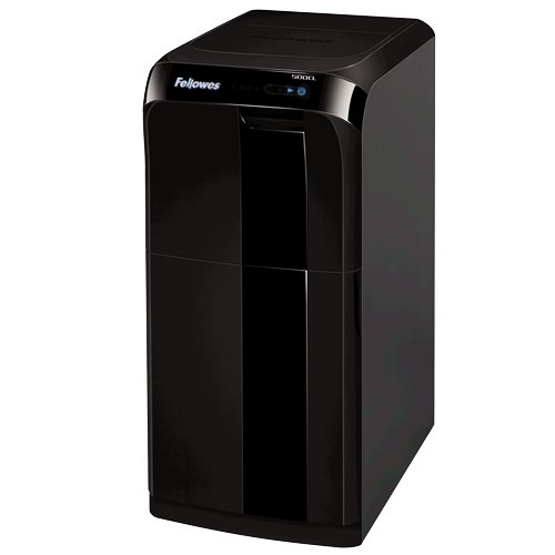Fellowes Automax 500CL Auto Feed Level P-4 Cross-Cut Shredder (4655301), Paper Shredders Image 1