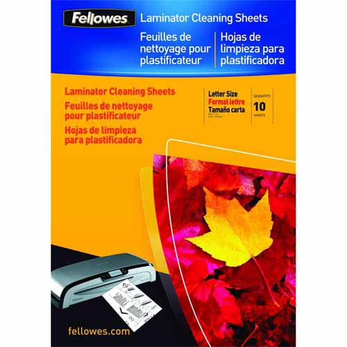 Fellowes Laminator Cleaning Sheets 10pk (5320603) Image 1