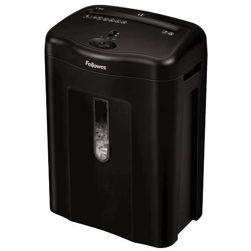 Fellowes Powershred 11C Level P-3 Cross-Cut Shredder (4350001) Image 1