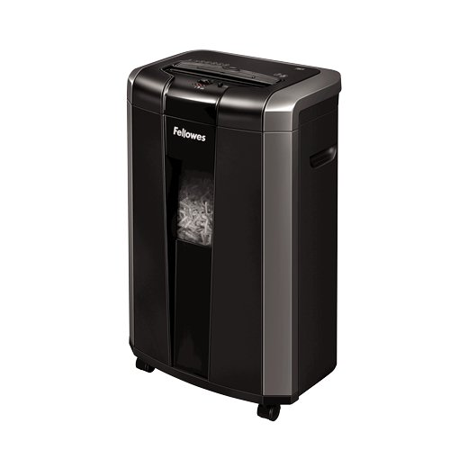 Fellowes Powershred 76Ct Level P-4 Cross-Cut Shredder (4676001), Shredders Image 1