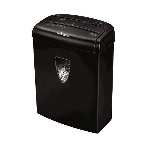 Fellowes Powershred H-8C Level P-4 Cross-Cut Shredder (4684301), Shredders Image 1