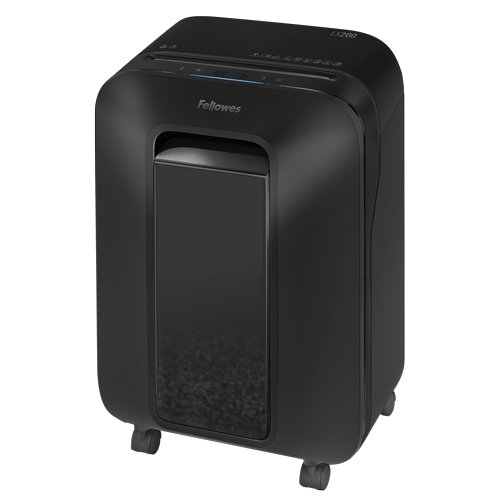 Fellowes Powershred LX200 Black Level P-4 Micro-Cut Shredder (5015001) Image 1