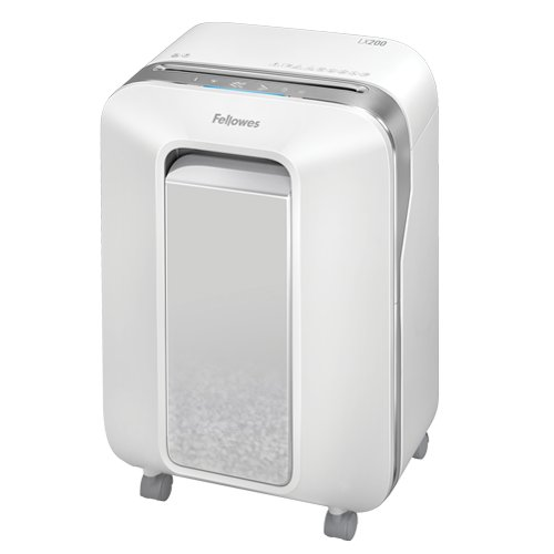 Fellowes Powershred LX200 White Level P-4 Micro-Cut Shredder (5015101) Image 1