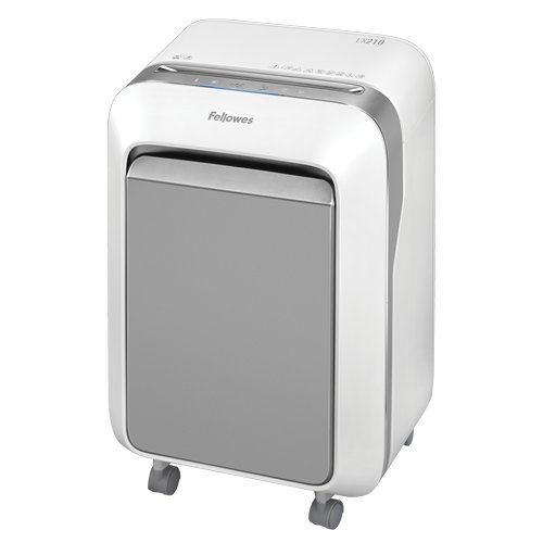 Fellowes Powershred LX210 White Level P-4 Micro-Cut Shredder (5015301) Image 1