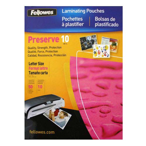 10mil Letter Laminating Pouches Image 1