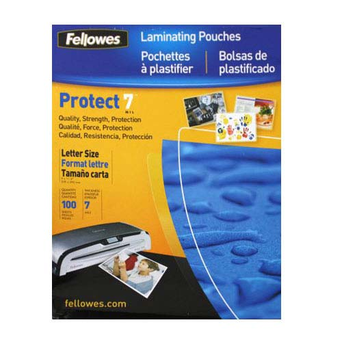 Fellowes Laminating Pouches 7 Mil