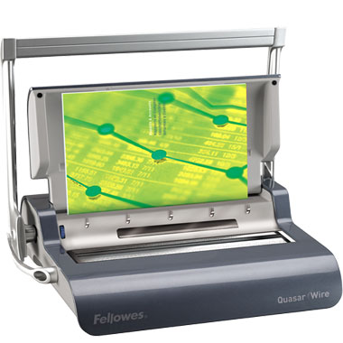 Fellowes Quasar 130 Double Loop Wire Binding Machine (5217401)