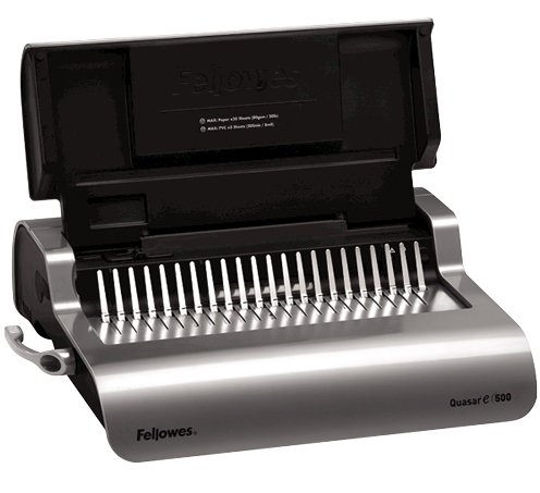 Electric Plastic Comb Binding Machine Image 1