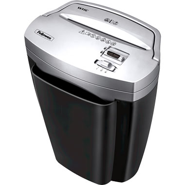 Fellowes Powershred W-11C Deskside Cross Cut Paper Shredder (3103201)