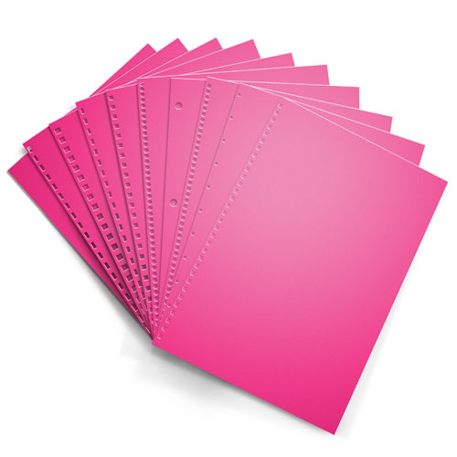 Fireball Fuchsia Astrobrights 24lb Punched Binding Paper - 500 Sheets (PPP24ABFF) Image 1