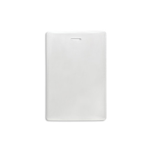 Flexible Vinyl Vertical Proximity Card Holder w/ Slot - 100pk (MYFVVPCHS), MyBinding brand Image 1