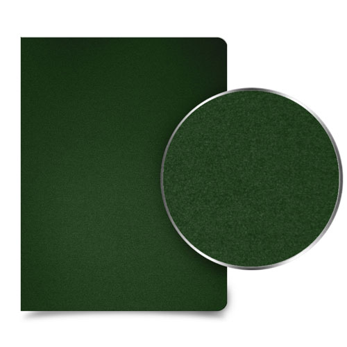 "Forest Green 35mil Sand Poly 9"" X 11"" Binding Covers"