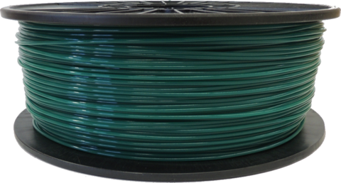 Forest Green 3mm PLA Filament 2.5LB Spool (FRGNPLAFSPOOL3) Image 1