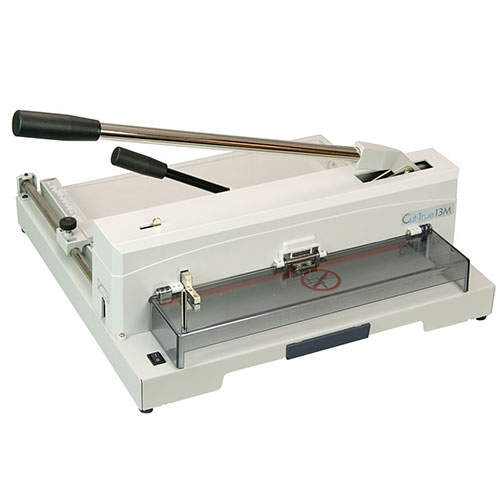 "Formax Cut-True 13M 14.5"" Tabletop Manual Paper Cutter (Cut-True-13M) Image 1"