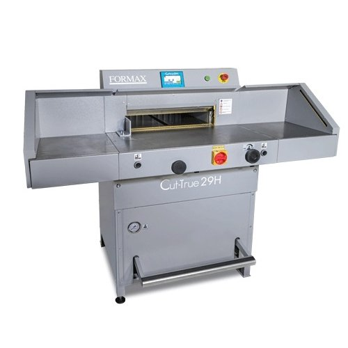 "Formax 20.5"" Hydraulic Programmable Guillotine Cutter (Cut-True 29H) - $16695 Image 1"