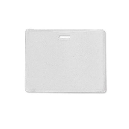 Frost Vinyl Horizontal Proximity Card Holder with Slot - 100pk (1840-5015) Image 1