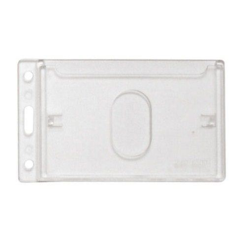 Frosted Vertical Side Load Card Dispenser with Thumb Slide - 50pk (1840-6500) Image 1
