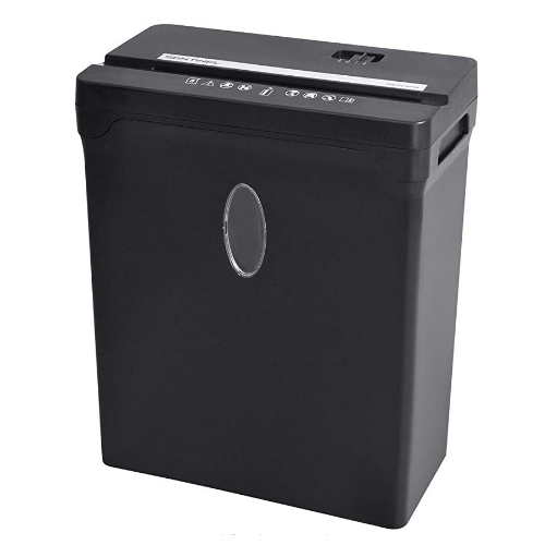 Sentinel 12-Sheet Level P-3 Cross-Cut Paper Shredder (FX122B), Work from Home Products Image 1