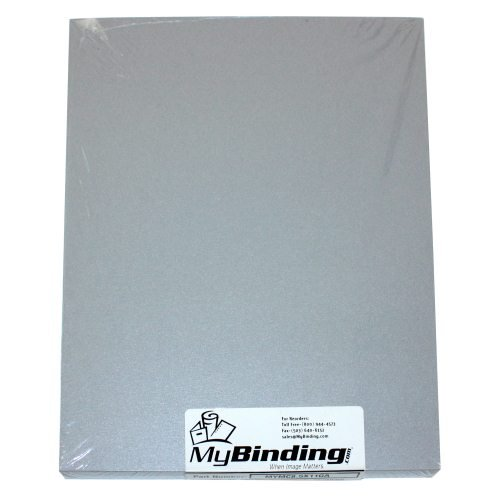 Galvanised A3 Size Metallics Binding Covers - 50pk (MYMCA3GA) Image 1