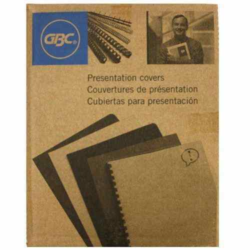 "GBC 9mil 8.5"" x 11"" Clear View Covers 100pk (9743108G) Image 1"