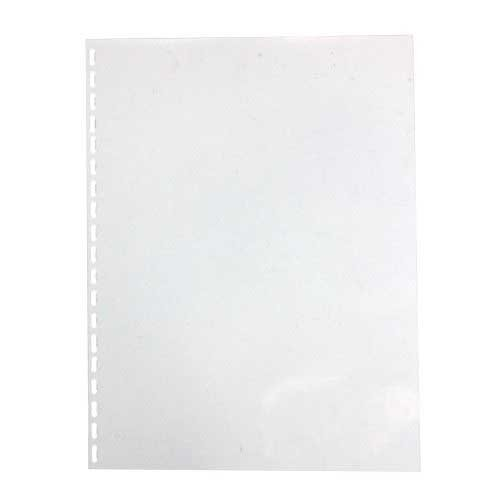 "GBC 10mil 8.5"" x 11"" Clear View Oversized Oval Punched Covers 100pk (25811) Image 1"