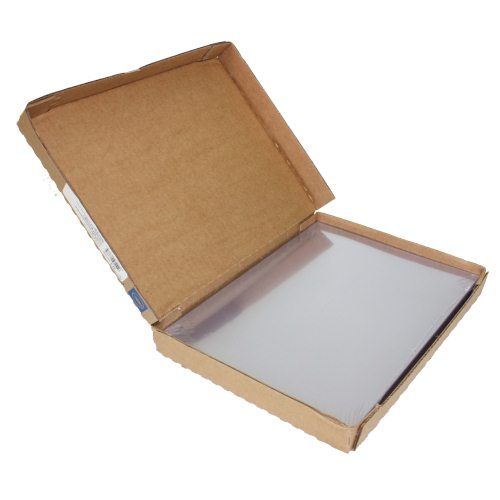 "GBC 7mil 8.5"" x 11"" Clear View Covers 100pk (9742011G) Image 1"