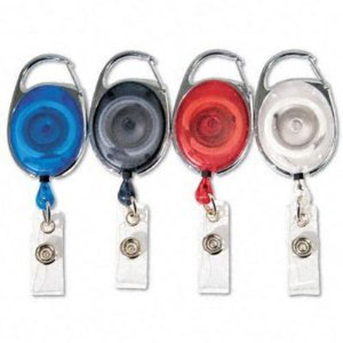 GBC Badgemates Carabiner Badge Reels Image 1