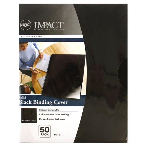 GBC Swingline Black Accents Poly Covers (2514493) Image 1