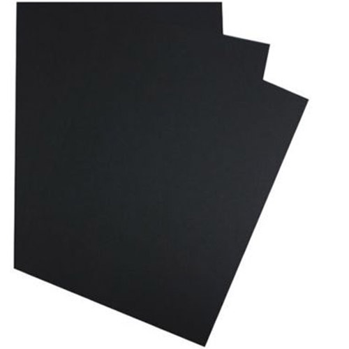 "GBC Black Linen Weave 8.5"" x 11"" Covers (9742451G) Image 1"