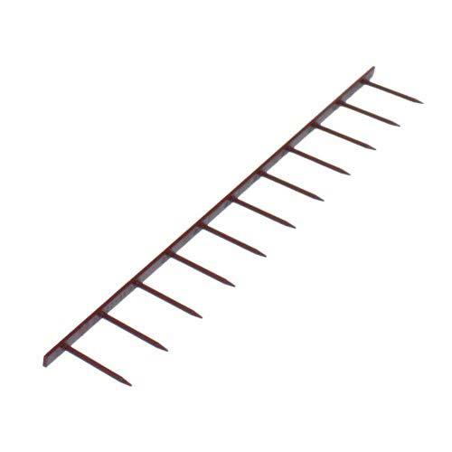 GBC Premium Burgundy 11 Pin Velobind Strips (GBCVB11BY), Binding Supplies Image 1