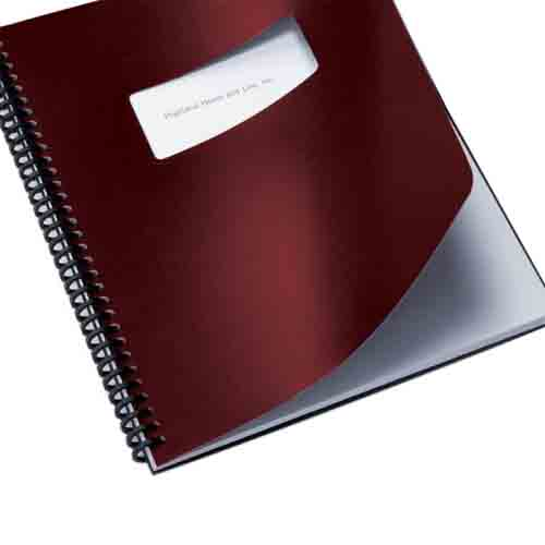 "GBC Burgundy 8.5"" x 11"" Regency Binding Covers (GBC-BRBC8.5X11) Image 1"